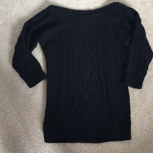 White House Black Market Cable Knit Sweater